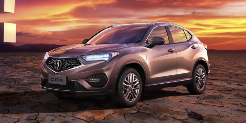 Acura CDX Makes World Debut in Beijing