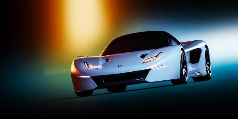 Acura/Honda NSX Concept by Andreas Ezelius