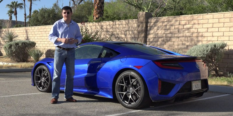 2017 Acura NSX Complete Review from Alex on Autos
