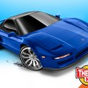 Hot Wheels Then and Now Series 1990 Acura NSX