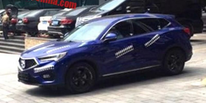 Acura Cdx Spied In China