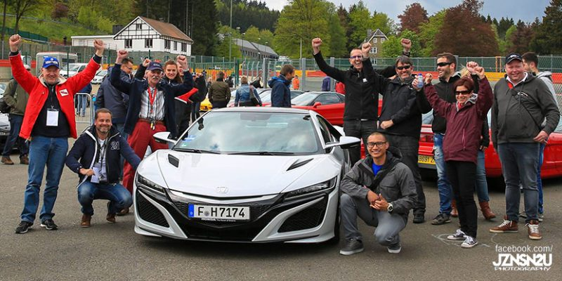 NSX Club Europe Tour 2016. Photo by Jznsn2u Photography