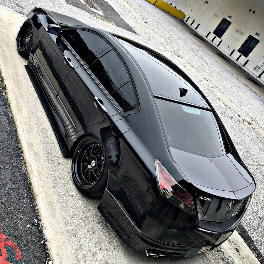 Erick's Crystal Black Pearl 2011 Acura TL