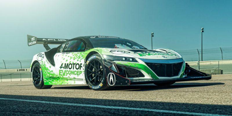Acura NSX-Inspired EV Concept