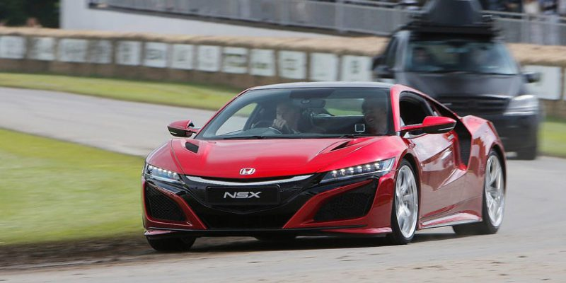 2017 NSX at the 2016 Goodwood Festival of Speed