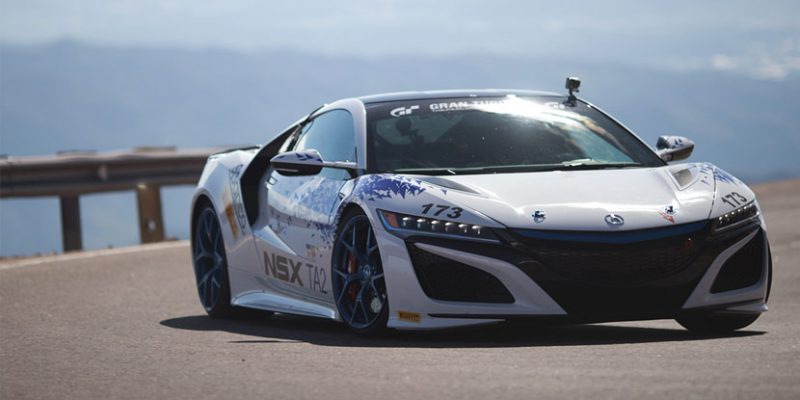 """Time Attack 2"" 2017 Acura NSX at the Pikes Peak International Hill Climb"
