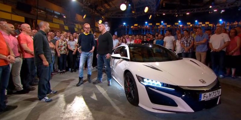 2017 Acura NSX Featured on Top Gear UK