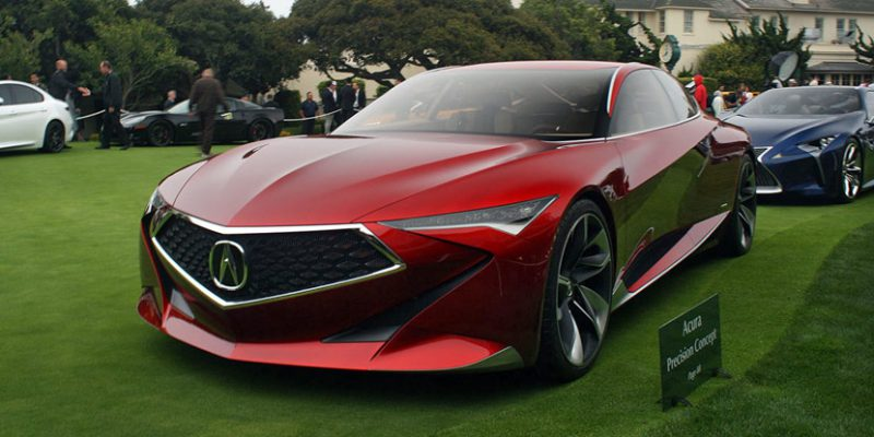 Acura Precision Concept at Pebble Beach Concours d'Elegance. Photo by Autoguide.com