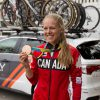 Canadian Bronze Medallist Kirsti May at the Tour of Alberta