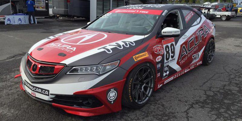 89 Racing Team's Acura TLX Build