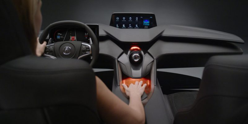 Acura Precision Cockpit Previews Next-Generation Interior and Technology Direction