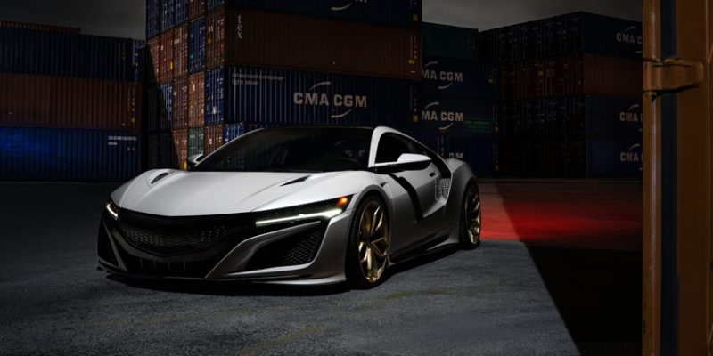 2017 Acura NSX on HRE P201 by Wheels Boutique