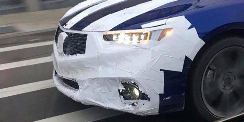 2018 Acura TLX Prototype Spy Shots