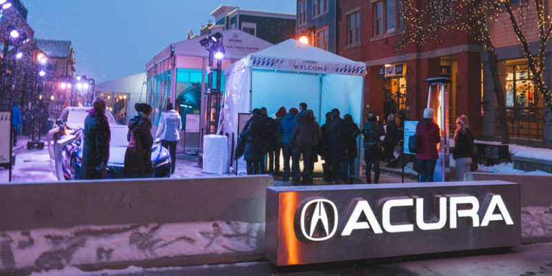 Acura at the 2017 Sundance Film Festival