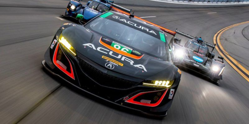 Acura NSX GT3 at the Roar Before the 24