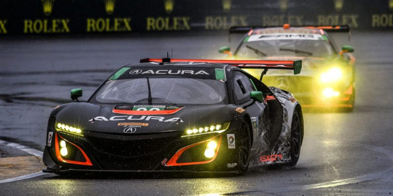 Acura NSX GT3 at the Rolex 24