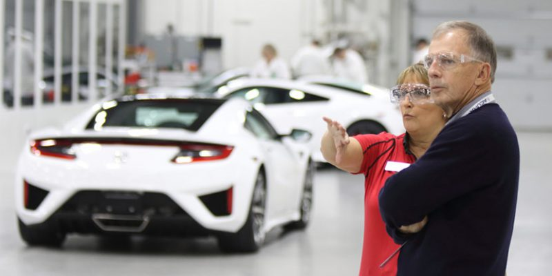 Acura Launches 'NSX Insider Experience' for Owners