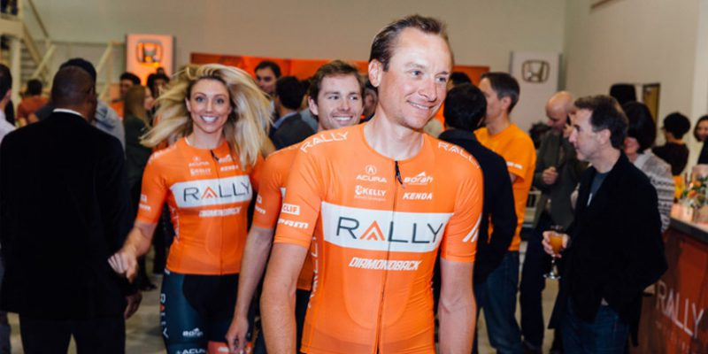 2017 Rally Cycling Team Launch at the American Honda Museum