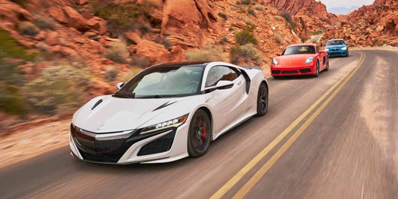 2017 Acura NSX Selected as 2017 AUTOMOBILE All-Star