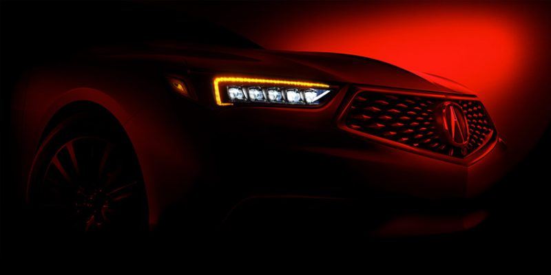 Refreshed 2018 Acura TLX to Make World Debut