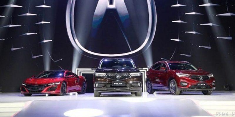 Acura China's 2017 MDX Sport Hybrid