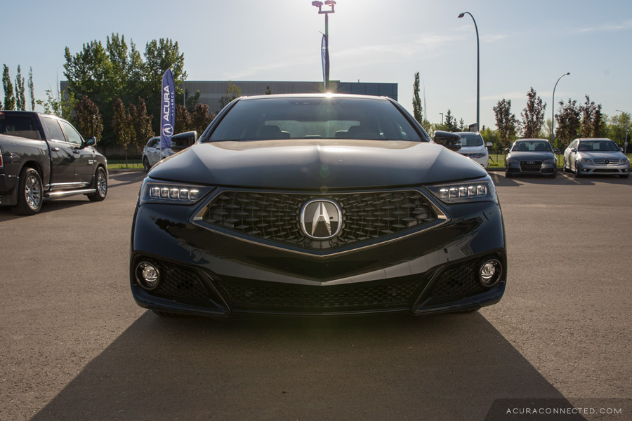 Snapshots: 2018 Acura TLX A-Spec – Acura Connected