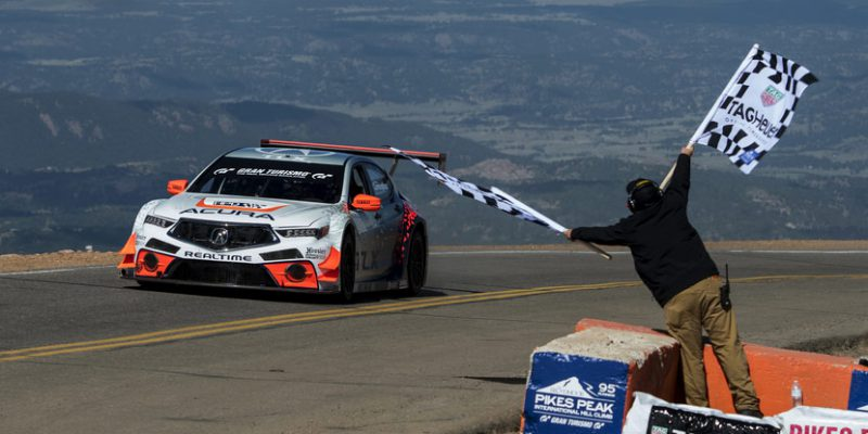 Acura TLX GT takes first place in Open Class