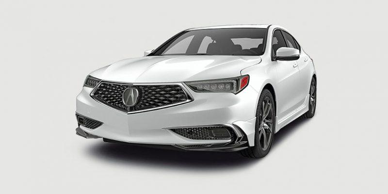 2018 Acura TLX Aero Kit