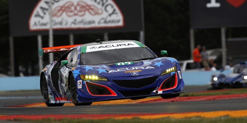 Acura NSX GT3, Lally & Legge Make It Two in a Row at Watkins Glen