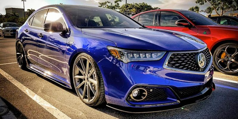 Nicole's 2018 Acura TLX A-Spec. Photo by @lv.223