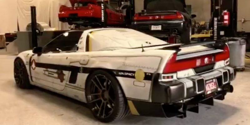 Marsbase Design VF1S NSX SEMA Build