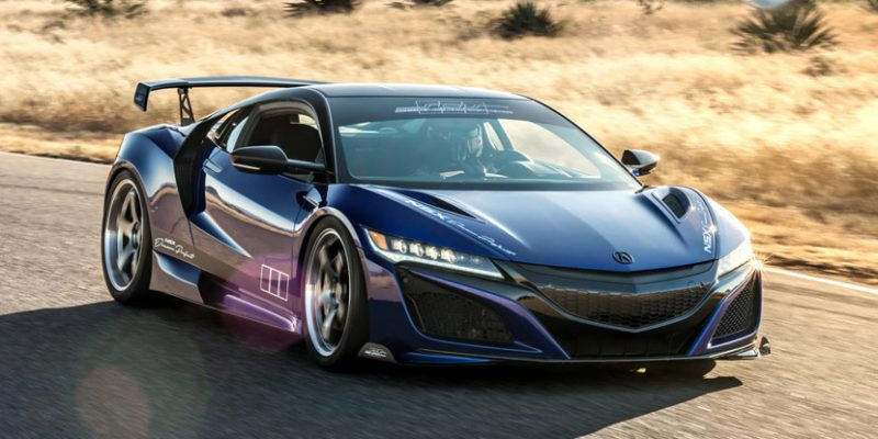 "NSX ""Dream Project"" by ScienceofSpeed to Debut at SEMA"