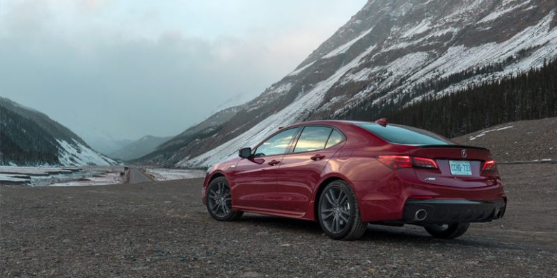 2018 Acura TLX in Jasper, Alberta