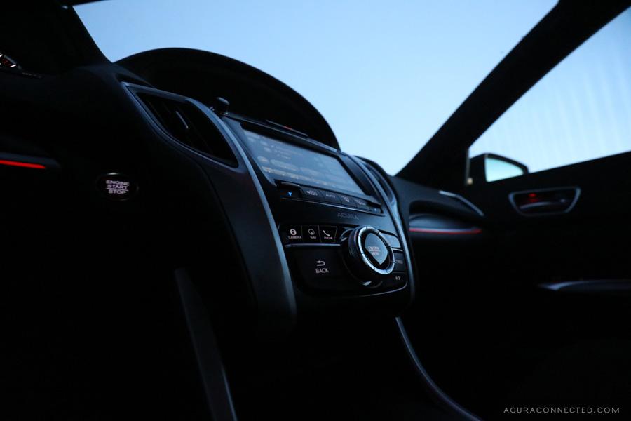 2018 Acura TLX in Jasper, Alberta - A-Spec Interior Lighting