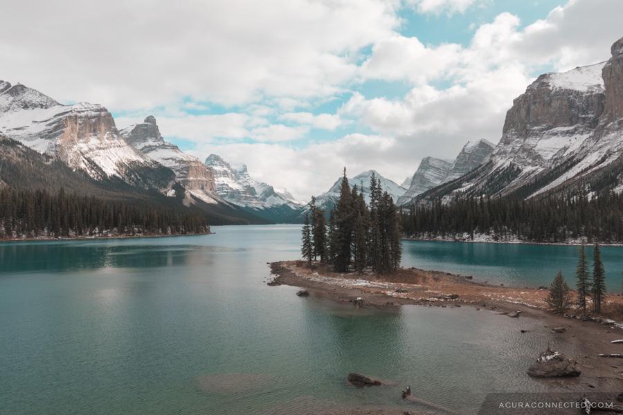Spirit Island, Maligne Lake, Jasper, Alberta