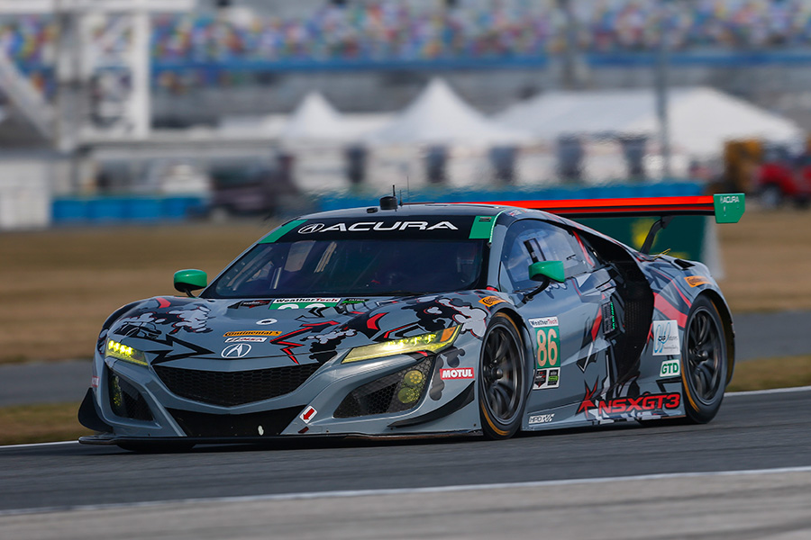 Michael Shank Racing Acura NSX GT3