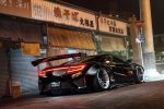 Liberty Walk NSX on Forgiato Maglia-ECL Wheels