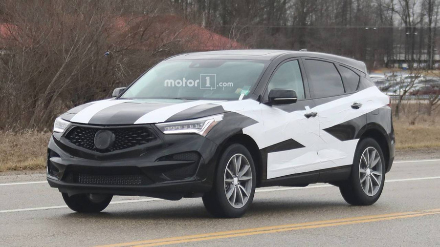 Spied: 2019 Acura RDX Test Mule