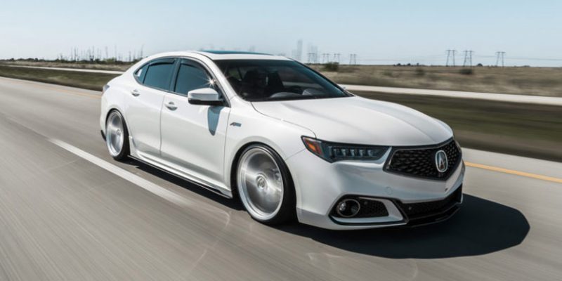 2018 Acura TLX A-Spec on Vossen VFS-5 Wheels