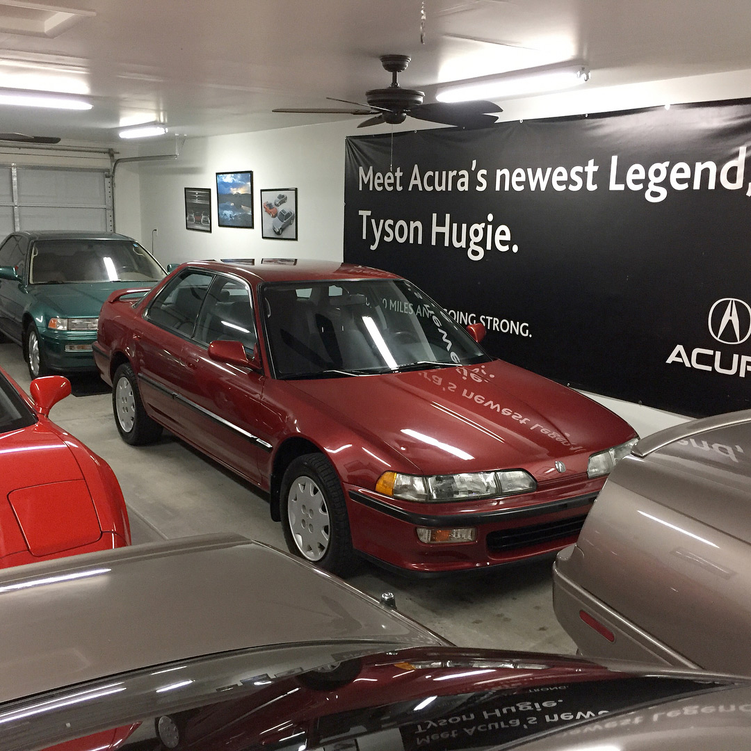 Tyson Hugie's Early '90s Acura Collection