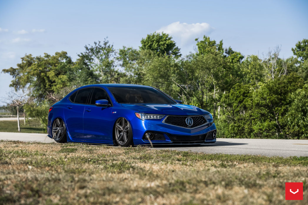 Nicole S Acura Tlx A Spec On Vossen Wheels Hf 1 Acura Connected