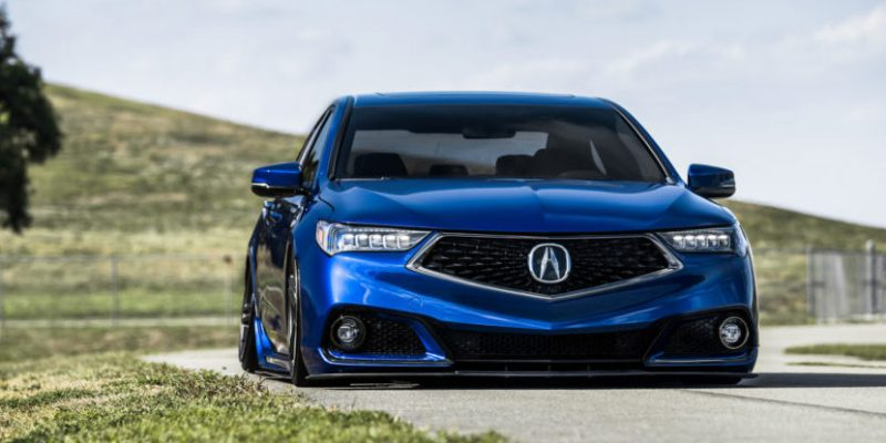 Nicole's Acura TLX A-Spec on Vossen Wheels HF-1