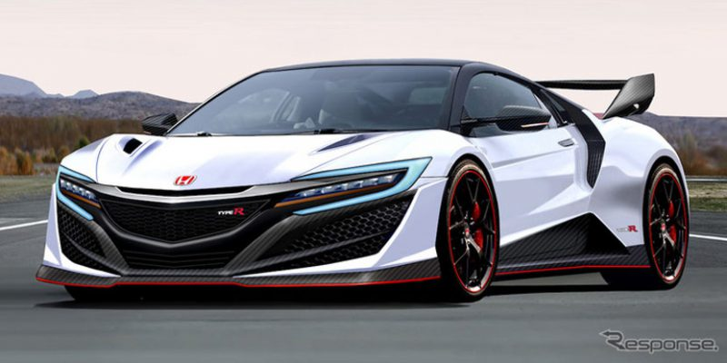 Rendered: 2020 Acura NSX Type R