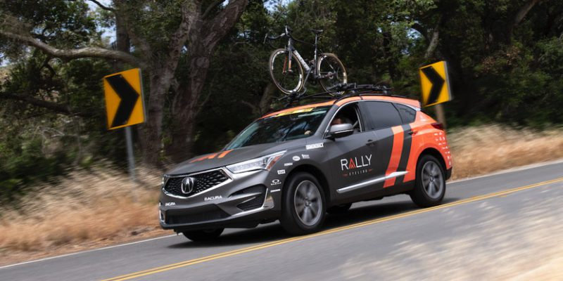 2019 Acura RDX Makes Road Debut as Official Vehicle of Rally Cycling