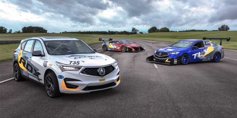 Acura Returns to the Pikes Peak Hill Climb with Four Competition Entries