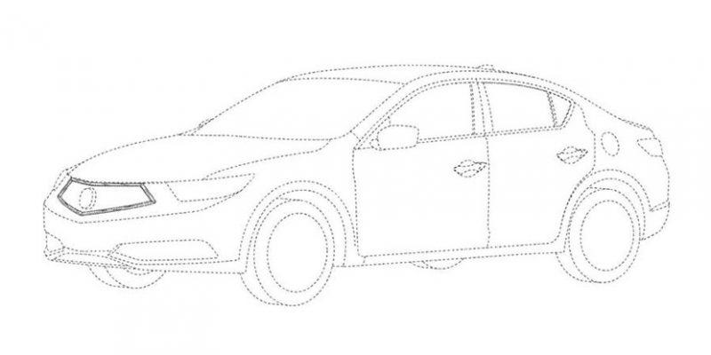 2019 Acura ILX Patent Image