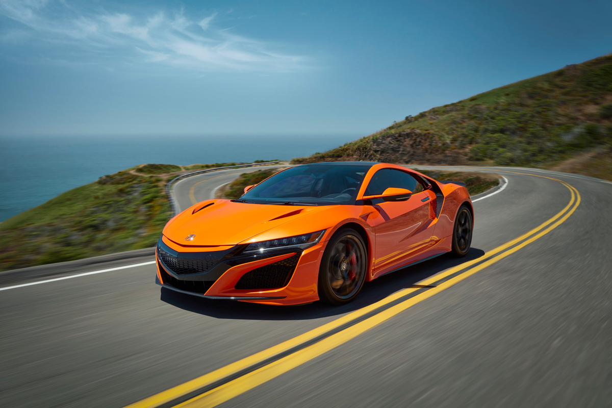 Updated 2019 Acura NSX Debuts in Monterey - Acura Connected