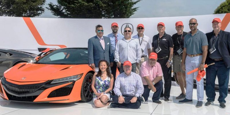 Acura at Monterey Car Week 2018 | Photo by Craig Ryan