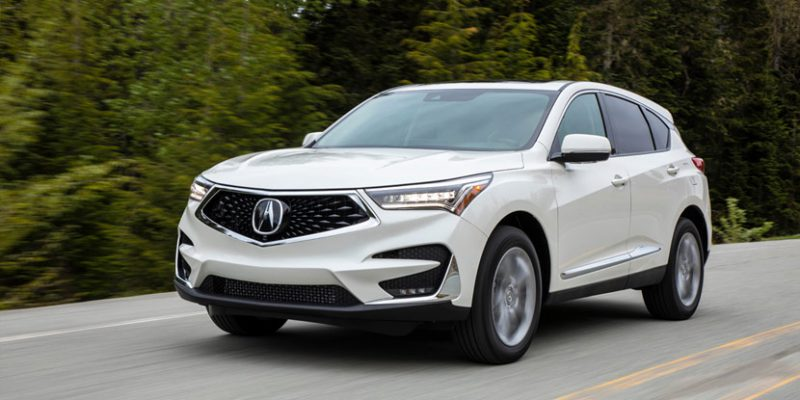 "2019 Acura RDX Wins ""Wards 10 Best UX"" Award"