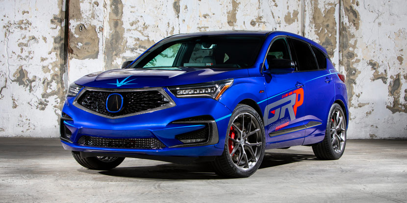 Graham Rahal Custom Acura RDX A Spec at SEMA 2018 Acura